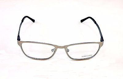 Image of Tom Ford Eyeglasses Frame TF5242 020 Silver Metal Italy Made Original 55-17-140
