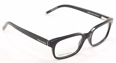 Dsquared2 Eyeglasses Frame DQ5024 001 Black Plastic High Quality 51-18-140