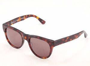 Sama Sunglasses Frame Marlowe Brown Tortoise Lenses Plastic Japan Made 53-20-145