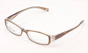John Galliano Eyeglasses Frame JG5009 045 Light Brown Plastic Italy 53-15-135