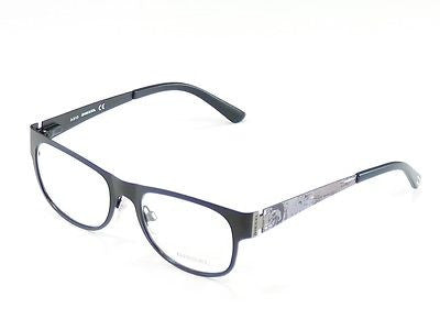 Diesel Eyeglasses Frame DL5026 002 Black Metal Top Quality 52-18-140 China Made - Frame Bay