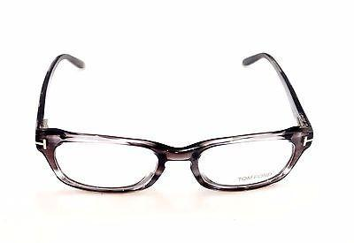 Image of Tom Ford Eyeglasses Frame TF5184 020 Plastic Gray Tortoise Italy Made 52-18-135