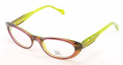 Face A Face Eyeglasses Roxan 1 247 Transparent Purple Plastic France Hand Made - Frame Bay