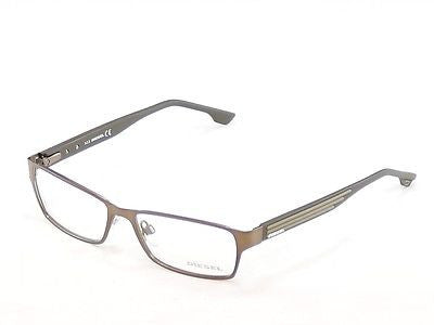Diesel Eyeglasses Frame DL5014 048 Brown Bronze Metal Plastic 54-16-140 - Frame Bay