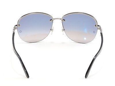 Image of Mont Blanc Sunglasses MB333S 12B Gunmetal Gradient Woman Italy Made 100% UV