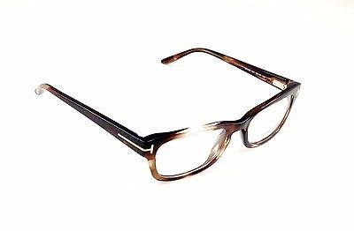 Tom Ford Eyeglasses Frame TF5184 047 Brown Tortoise Plastic Italy Made 52-18-135