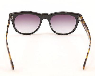 Sama Sunglasses Marlowe Japan Black Tortoise Gradient Lenses Plastic 53-20-145
