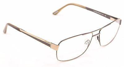 Jaguar Eyeglasses Frame 33068 854 Gold Gray Metal High Quality Germany 60-15-145