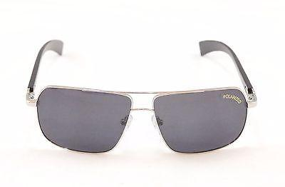 Paul Vosheront Sunglasses PV347 Polarized Lenses Metal Plastic Italy 63-14-145