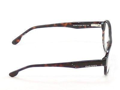 Image of Diesel Eyeglasses Frame DL5003 050 Plastic Brown Havana Genuine 56-13-145