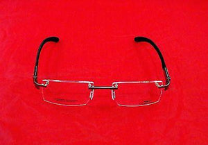 Charriol SP23002A Eyeglasses Silver Gray Carbon Sports France Made Frame 53-18
