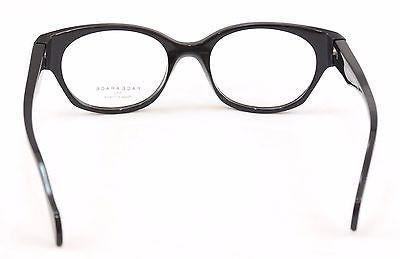Image of Face A Face EPOCA 2 3016 Eyeglasses Red Black Plastic France Hand Made Frame