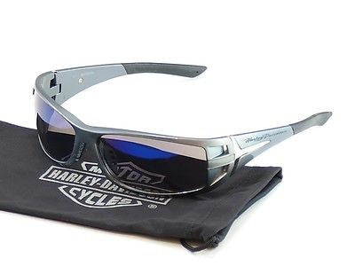Harley-Davidson Sunglasses Gray Plastic HDS 615 BLGRY-3F China Made 65-15-115 - Frame Bay