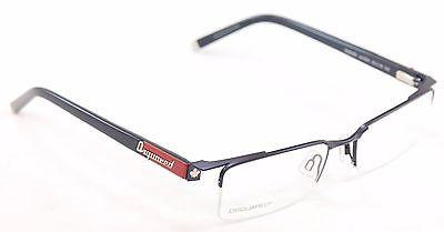 Dsquared2 Eyeglasses Frame DQ5069 09A Blue Metal Plastic High Quality 53-18-140
