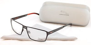 Jaguar Eyeglasses Frame Performance 33801-843 Brown Metal Germany Made 58-14-135
