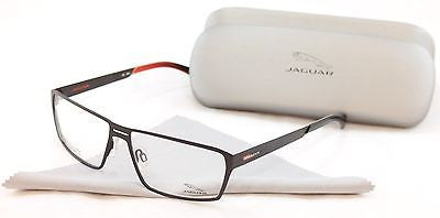 Jaguar Eyeglasses Frame Performance 33801-843 Brown Metal Germany Made 58-14-135 - Frame Bay
