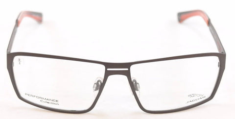 Image of Jaguar Eyeglasses Frame 33801-420 Gray Metal Performance Germany Made 58-14-135