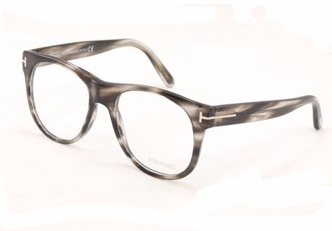 Tom Ford Eyeglasses TF5314 020 Black Tortoise Plastic Italy Made Frame 55-18-145 - Frame Bay