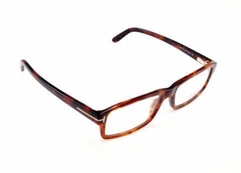 Tom Ford Eyeglasses Frame TF5149 052 Brown Tortoise Plastic Italy Made 55-17-145