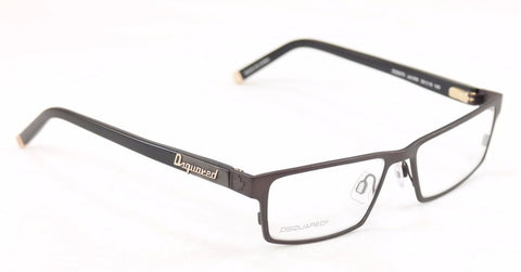 Image of Dsquared2 Eyeglasses Frame DQ5070 049 High Quality Black Plastic Metal 54-16-140