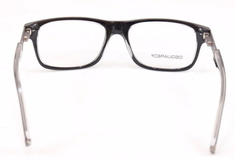 Image of Dsquared2 Eyeglasses Frame DQ5103 003 Black Plastic Metal Italy Made 52-16-145