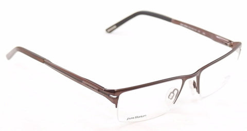 Image of Jaguar Eyeglasses 39504-510 Brown Sand Metal Frame Germany Made 54-18-140