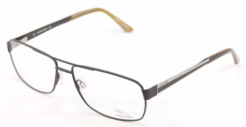 Image of Jaguar Eyeglasses Frame 33068-853 Meta Black High Quality Germany 60-15-145