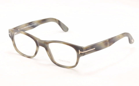 Tom Ford Eyeglasses Frame TF5276 64F Gray Tortoise Plastic Italy Made 51-19-145 - Frame Bay