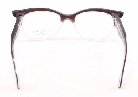Face A Face Eyeglasses Ebony 3 494 Black Brown Crystal Plastic France Hand Made