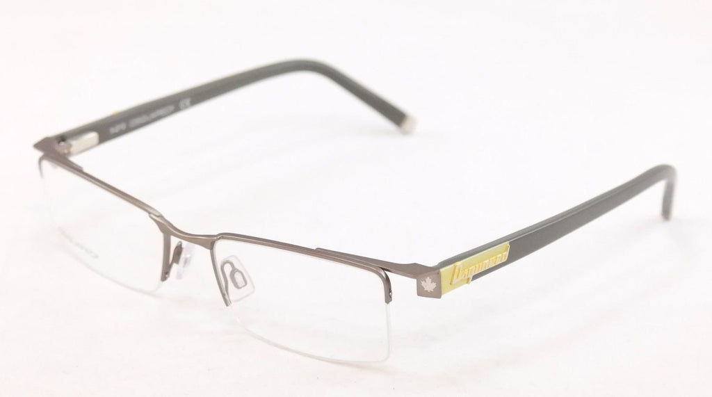 Dsquared2 Eyeglasses Frame DQ5069 015 Gray Plastic Metal High Quality 53-18-140