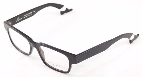 Face A Face Eyeglasses Frame Bocca Smoking 2 100 Black Plastic Italy Hand Made