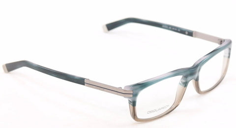 Image of Dsquared2 Eyeglasses Frame DQ5010 065 Blue Marble Grey Plastic Italy 54-16-140