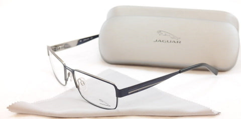 Jaguar Eyeglasses Frame 33058-819 Blue Metal High Quality Germany Made 57-17-140 - Frame Bay