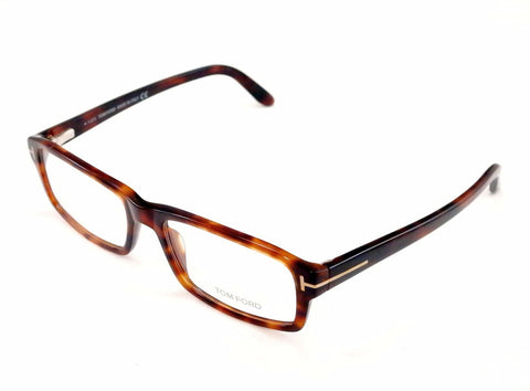 Tom Ford Eyeglasses Frame TF5149 052 Brown Tortoise Plastic Italy Made 55-17-145 - Frame Bay