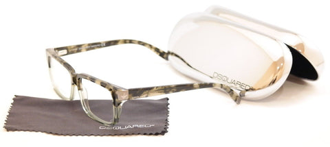 Image of Dsquared2 Eyeglasses Frame DQ5083 56A Havana Smoke Plastic Italy Made 54-14-140