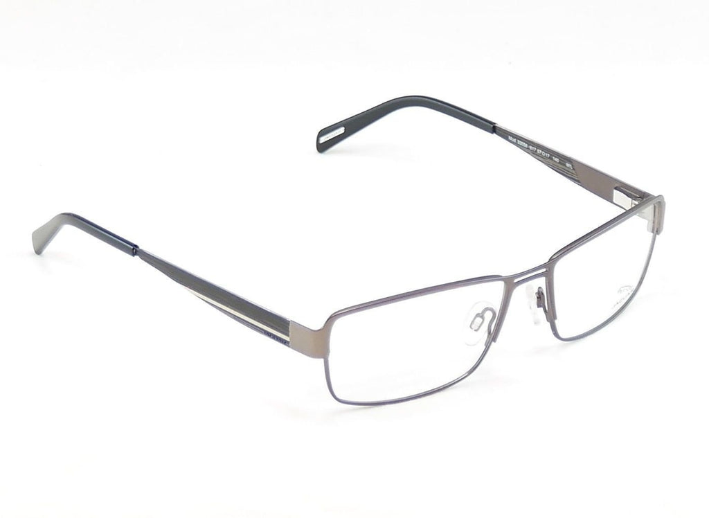 Jaguar Eyeglasses Frame 33058-817 Brown Metal High Quality Germany 57-17-140