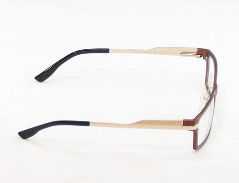 Image of Katsu Eyeglasses Frame K7105 2 Bronze Gold Metal Japan Hand Made 57-16-145