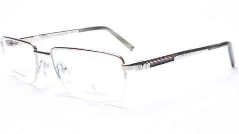 Image of Charriol Eyeglasses Frame PC7396 C3 Silver Titanium France Made 55-18-140