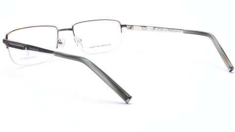 Charriol Eyeglasses Frame PC7396 C3 Silver Titanium France Made 55-18-140