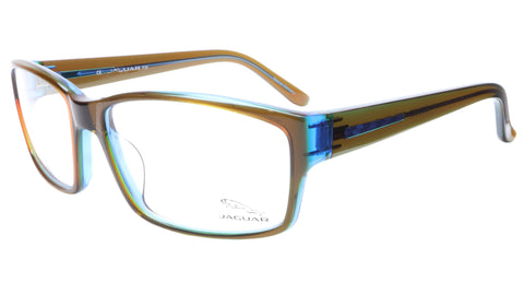 Image of Jaguar Eyeglasses Brown Blue 31011-6127 Plastic Germany Made Frame 57-16-135