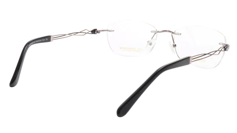 Image of LINDSTROM L-106 C3 Eyeglasses Frame Titanium Bronze Black Italy Made 53-19-140