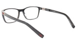 OGA Morel Eyeglasses Frame 73430 NR020 Acetate Black Red France 53-17-140, 37 - Frame Bay