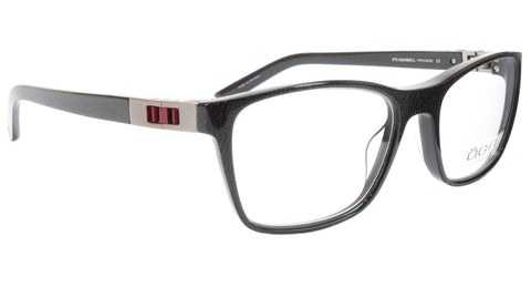 Image of OGA Morel Eyeglasses Frame 73430 NR020 Acetate Black Red France 53-17-140, 37