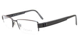 OGA Morel Eyeglasses Frame 68940 NG012 Acetate Metal Black France 52-17-140, 27 - Frame Bay