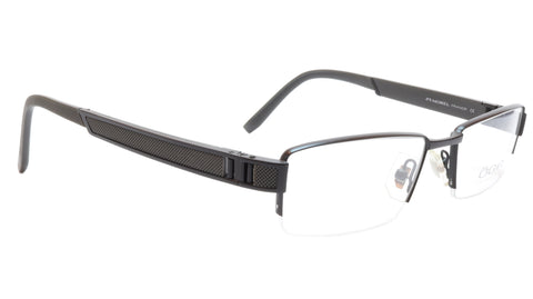 Image of OGA Morel Eyeglasses Frame 68940 NG012 Acetate Metal Black France 52-17-140, 27