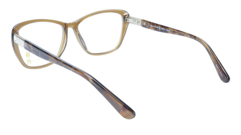 Image of KATSU K8545C C1 Eyeglasses Frame Acetate Saddlebrown Tortoise 54-15-140 Japan