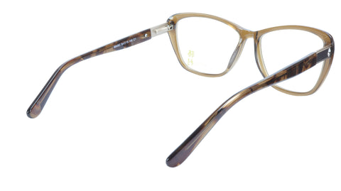 KATSU K8545C C1 Eyeglasses Frame Acetate Saddlebrown Tortoise 54-15-140 Japan
