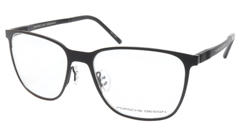 Porsche Design P8275 A Black Metal Acetate Eyeglasses Frame Japan 55-18-145, 43 - Frame Bay