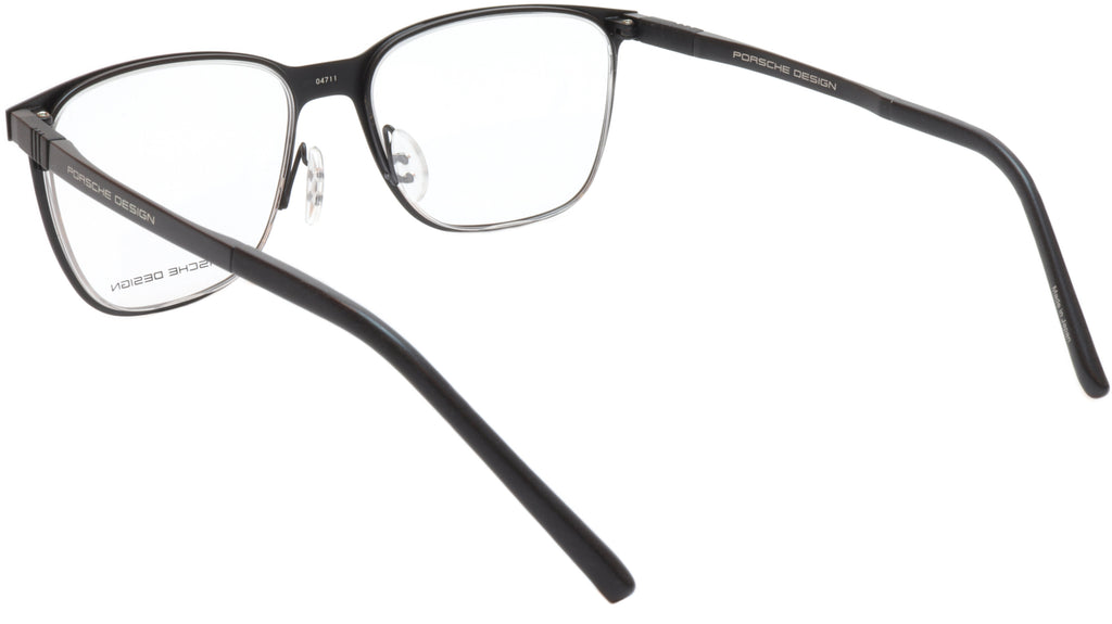 Porsche Design P8275 A Black Metal Acetate Eyeglasses Frame Japan 55-18-145, 43