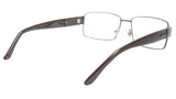 Gucci GG2217 L13 Chocolate Metal Acetate Eyeglasses frame Italy 55-16-135, 35 - Frame Bay